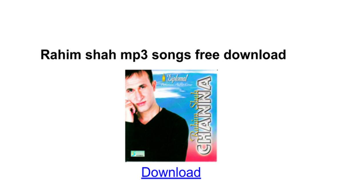 Jhoola rahim shah mp3 download
