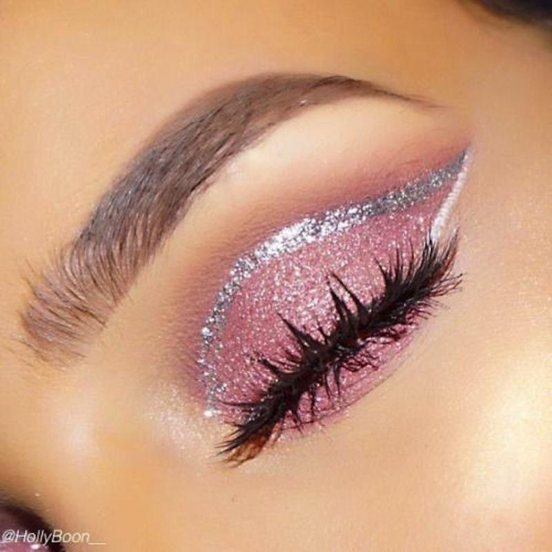 Картинки по запросу glitter makeup looks
