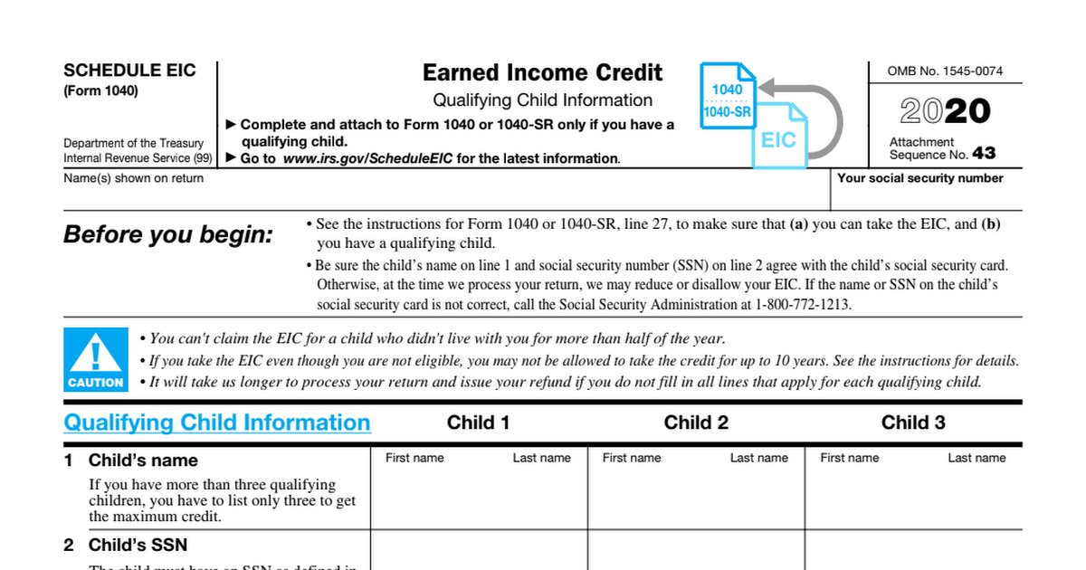 Sample 1040 Schedule EIC 2020.pdf