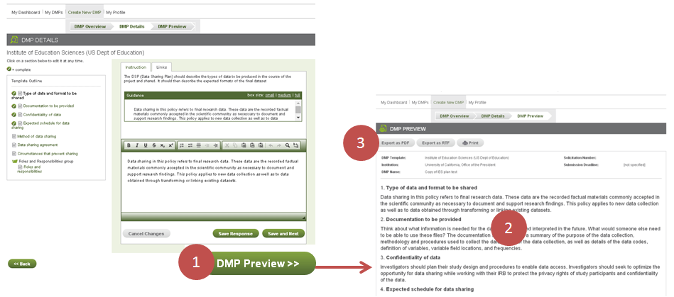 DMP Details