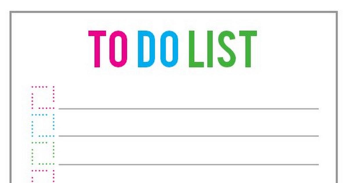 To Do List.pdf - Google Drive