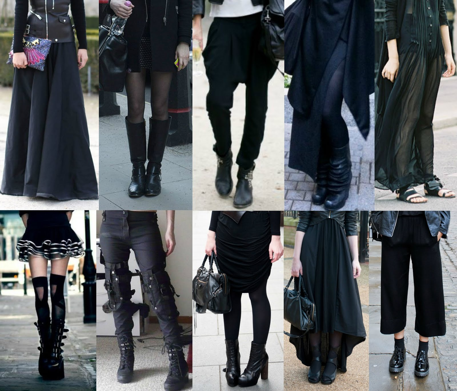Modern Gothic Fashion Tumblr