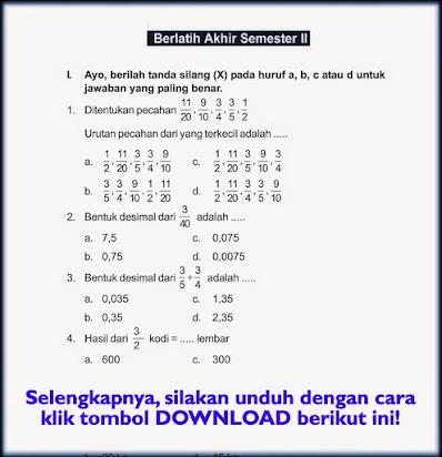 Soal Ujian Matematika Kelas 6 Guru Ilmu Sosial