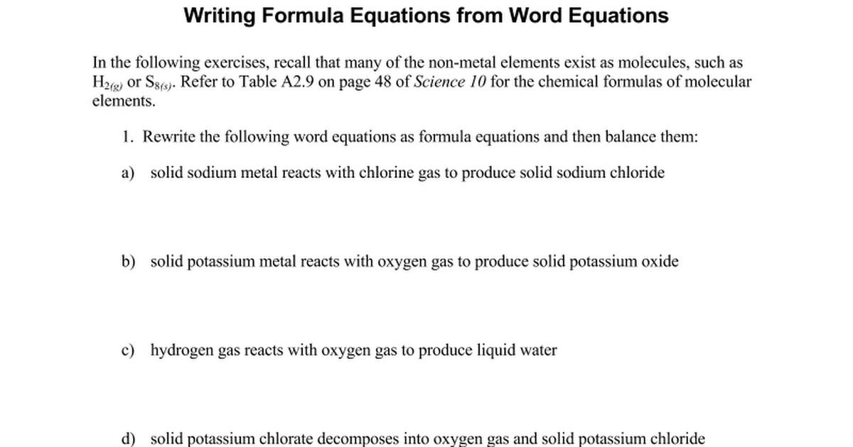 Potassium Metal Formula Best Photos About Formula Simages