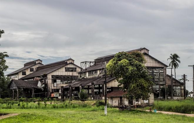 Fordlândia era para se juntar ao grupo das cidades futuristas, mas acabou se tornando uma cidade fantasma. (Fonte: Fundação Joaquim Nabuco/Reprodução)