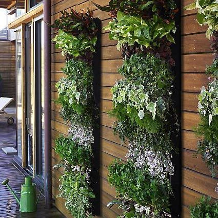 Image result for vertical garden