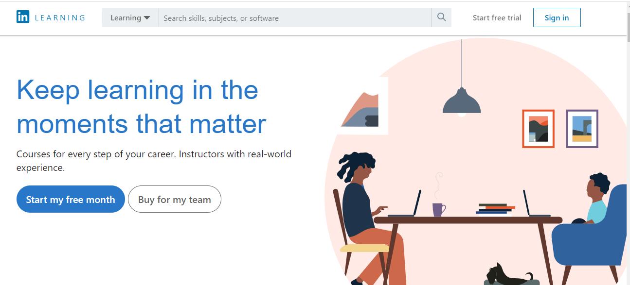 Online Learning Platform - LinkedIn Learning