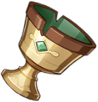 Ly Nhà Mạo Hiểm - Adventurer's Golden Goblet