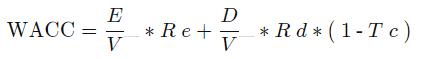 Fórmula WACC