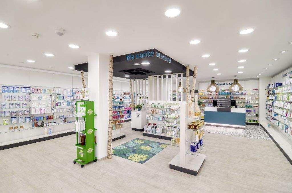 optimizar el espacio en farmacia