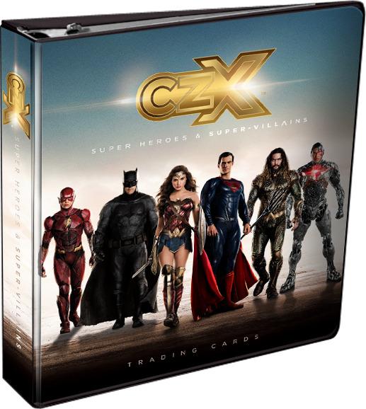 CZX Super Heroes & Super-Villains - Binder