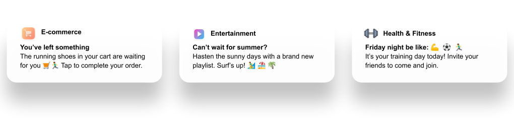 Use emojis to increase your push notifications CTR