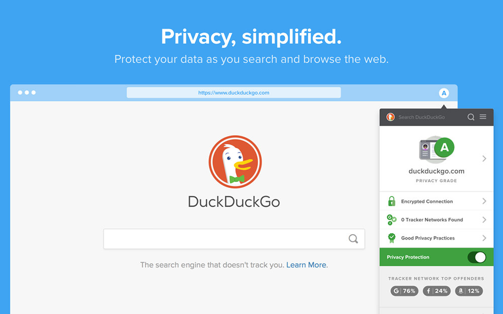 DuckDuckGo Основы конфиденциальности