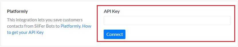 Platformly API Key