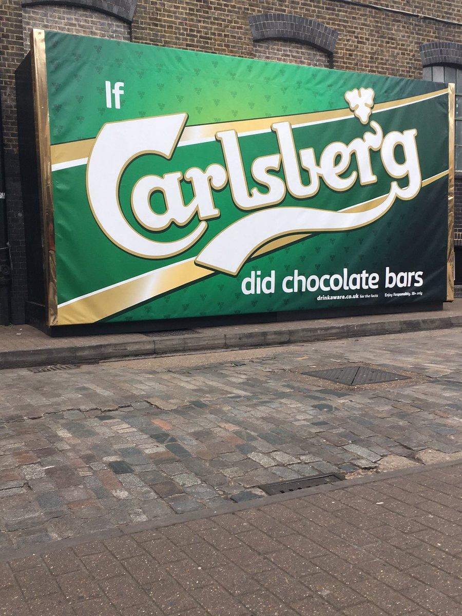 Image result for #IfCarlsbergDidChocolateBars