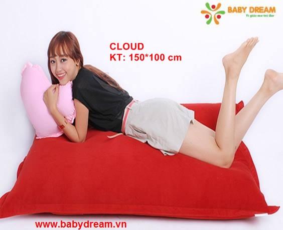 Gối lười hạt xốp BabyDream được làm từ các chất liệu cao cấp