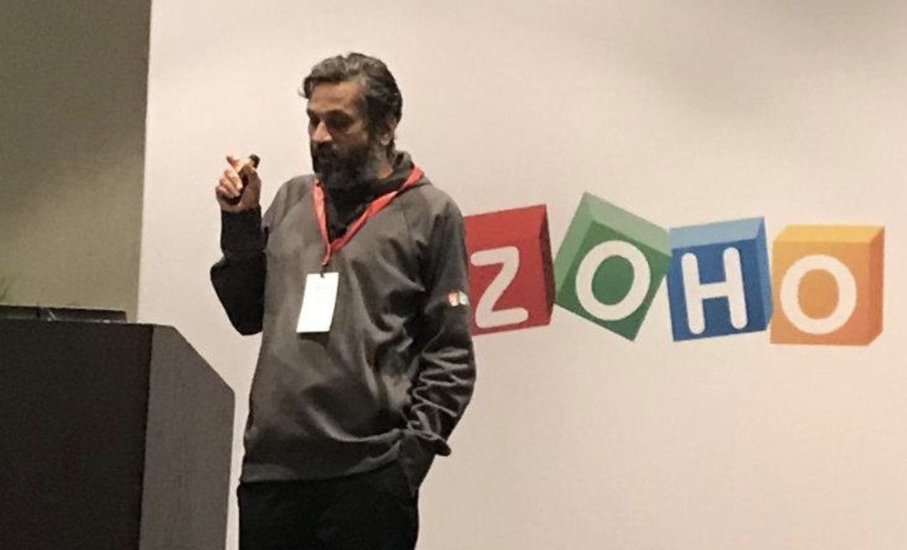 At ZohoDay 2020, CEO Sridhar Vembu