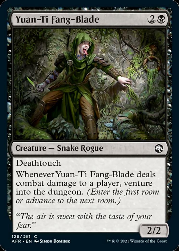 Yuan-Ti Fang Blade MTG Card