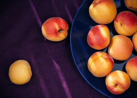 Apricots, Yellow, Orange, Red, Purple
