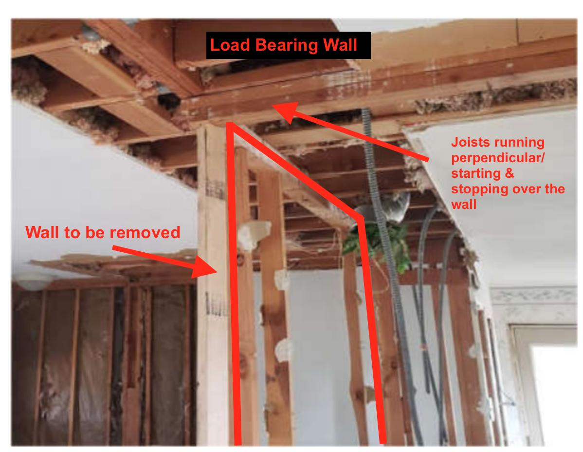 Load bearing wall