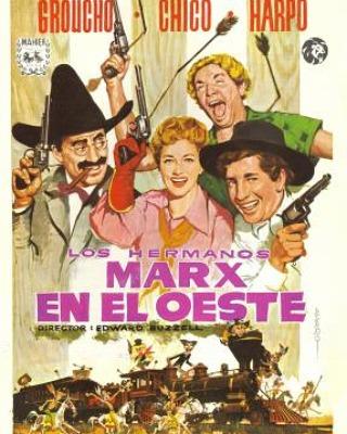 Los hermanos Marx en el Oeste (1940, Edward Buzzell)