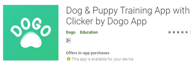 DOGO: Dog and Puppy training app