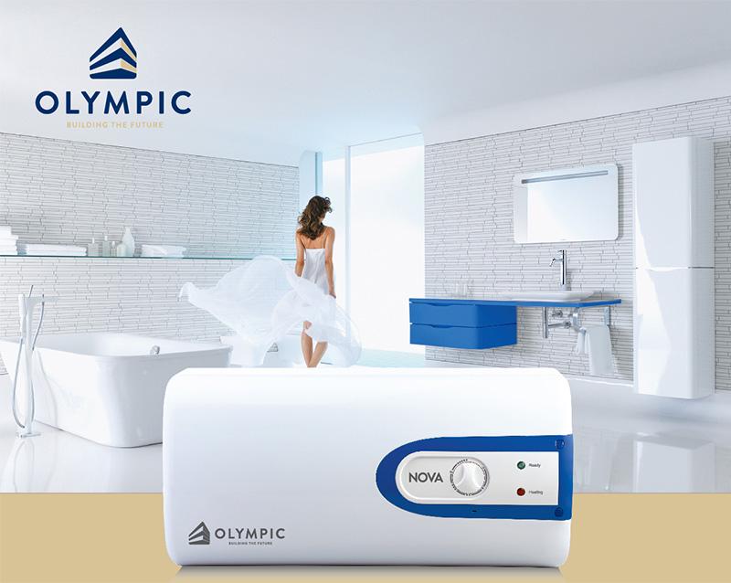 Bình nóng lạnh Olympic Nova