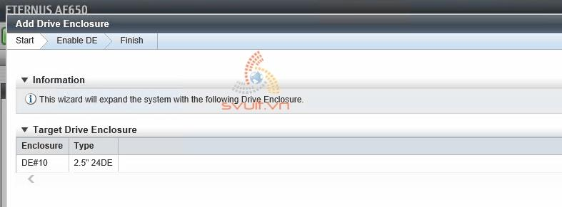 Install Drive Enclosure ETERNUS AF650 #2