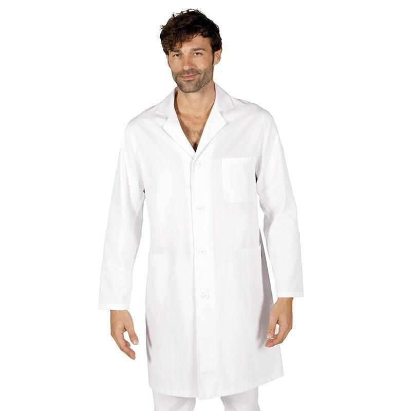 Bata sanitaria manga larga para uniformes de enfermería