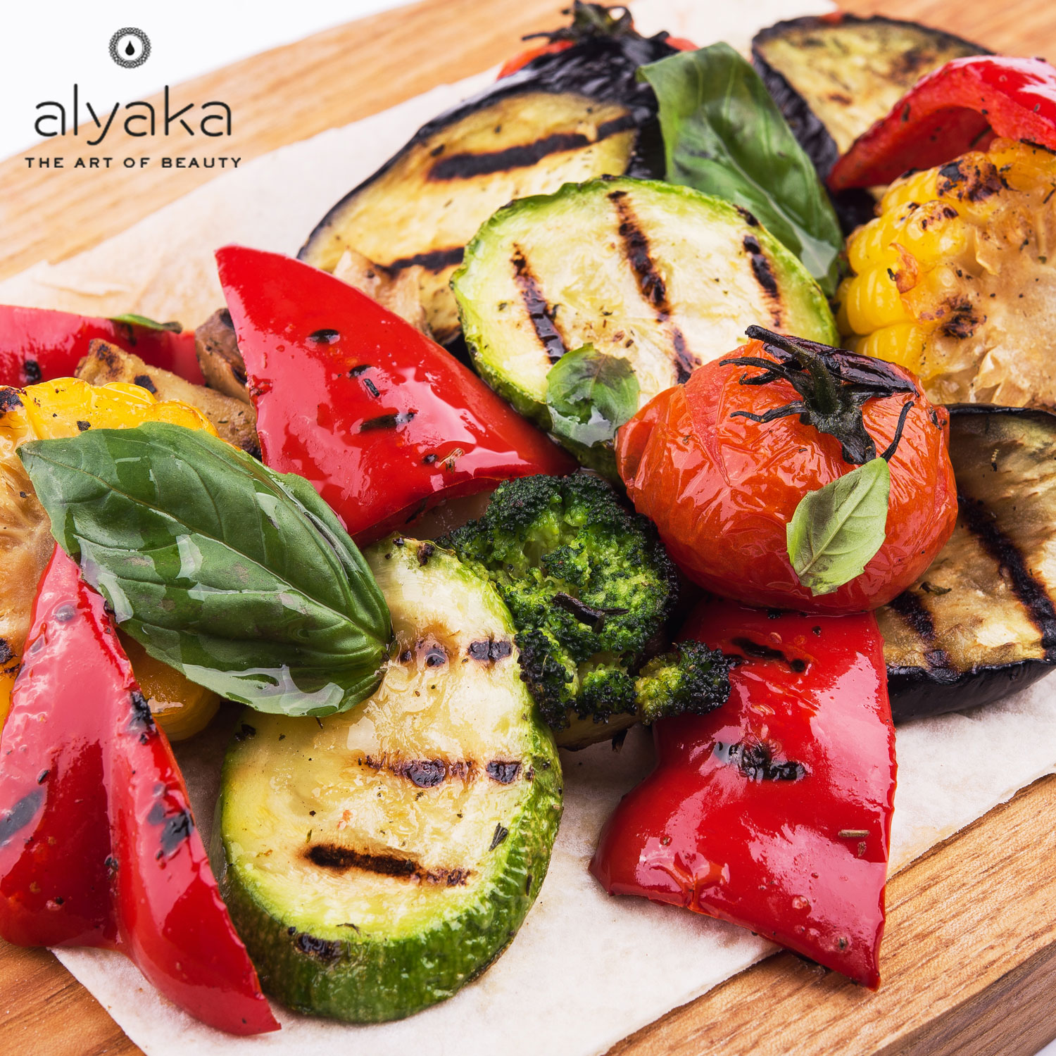 Low-Calorie meal Roasted Vegetables