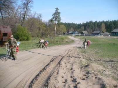Отчёт о велосипедном туристском походе I категории сложности по Тамбовской, Липецкой и Воронежской областям