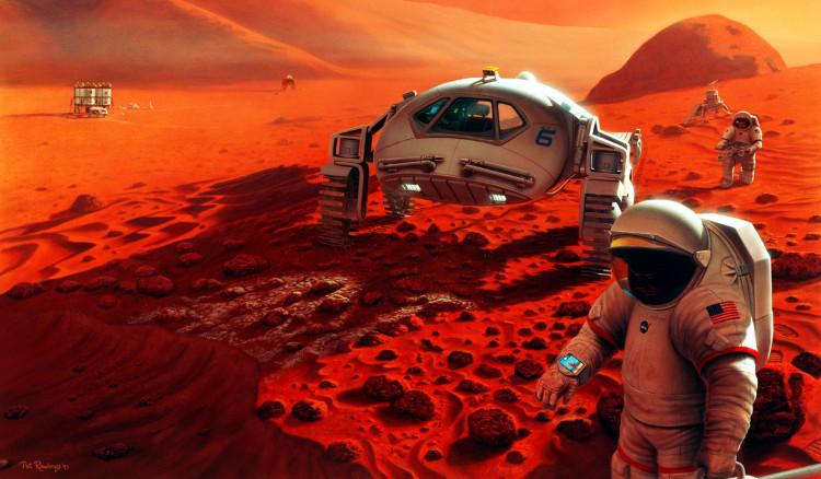 Mô phỏng cuộc sống trên Sao Hỏa của các phi hành gia.