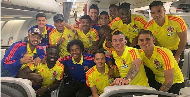 Resultado de imagem para seleção da colômbia copa américa 2019
