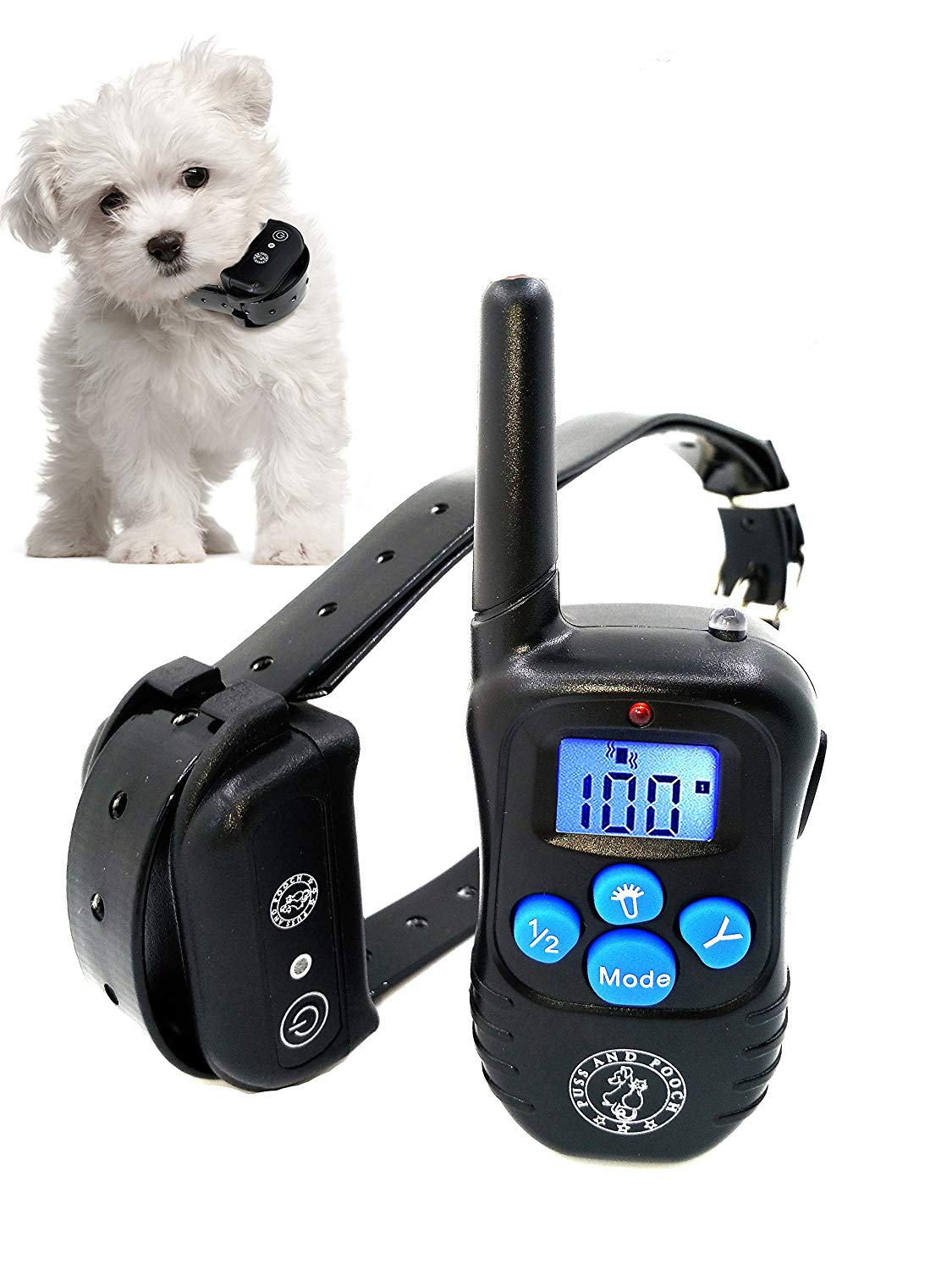 Shock Collar for Dogs Waterproof Dog Training Collar with