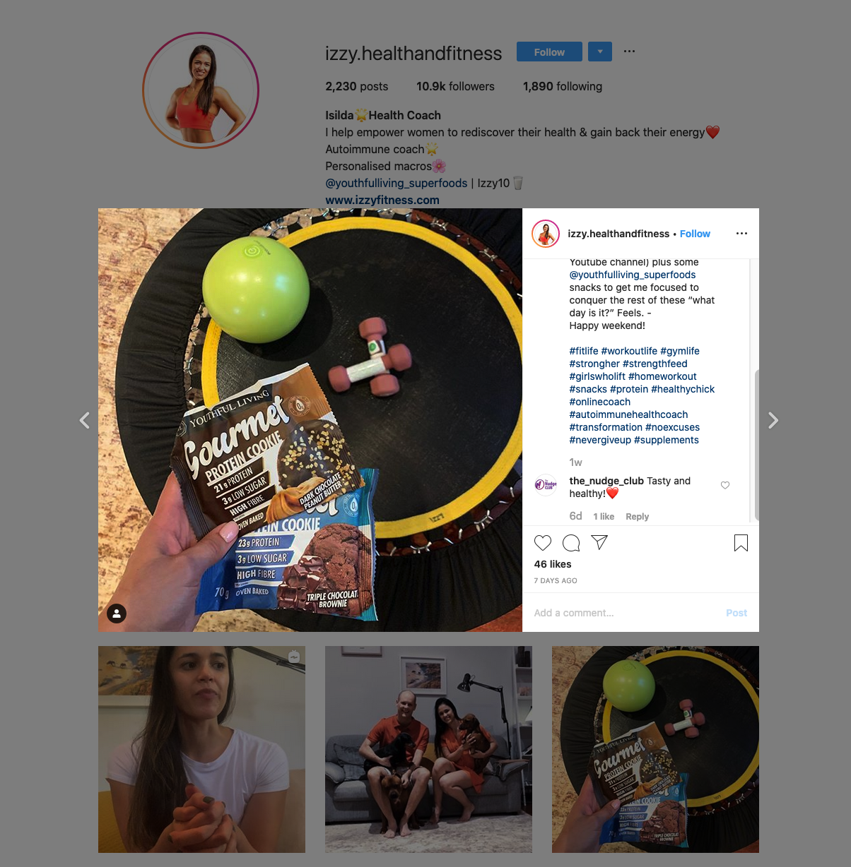 Isilda | Health Coach Influencer