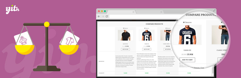 Plugin WooCommerce - YITH WooCommerce Compare