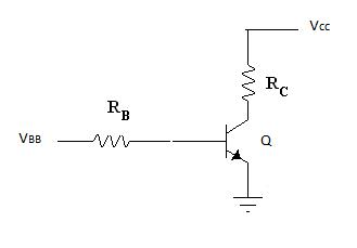 In a transistor circuit, the two extreme ends of t