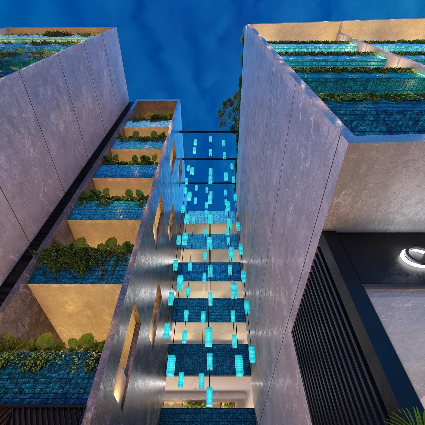 Exterior del edificio. Cortesía Immo Investments & Volta.