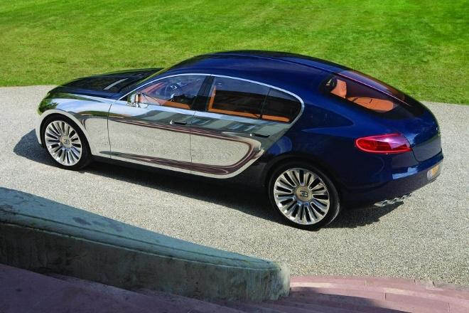 Bugatti Galibier koncepció hátulja