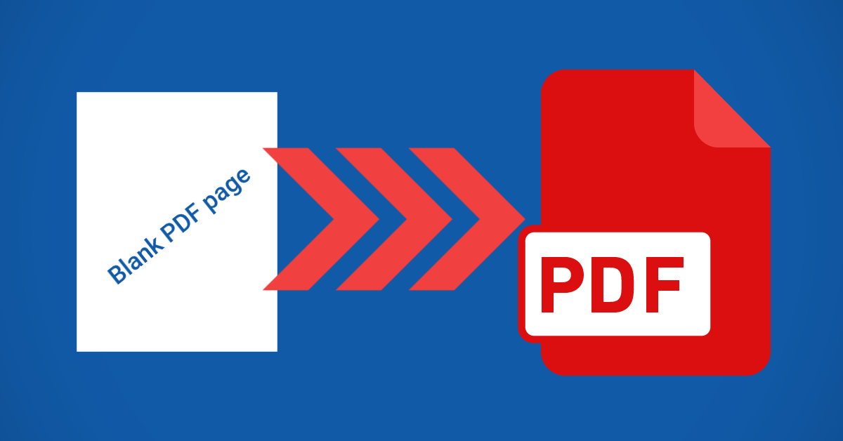 how to add a page on pdf