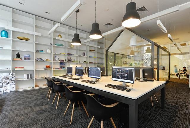 thiết kế nội thất văn phòng đẹp phong cách mới