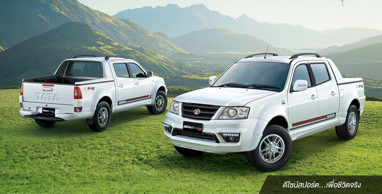 ดีไซน์ภายนอกรถยนต์ : TATA Xenon 150NX-Plore 4WD