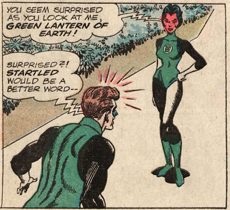 Apologise, sexy female superhero green lantern with