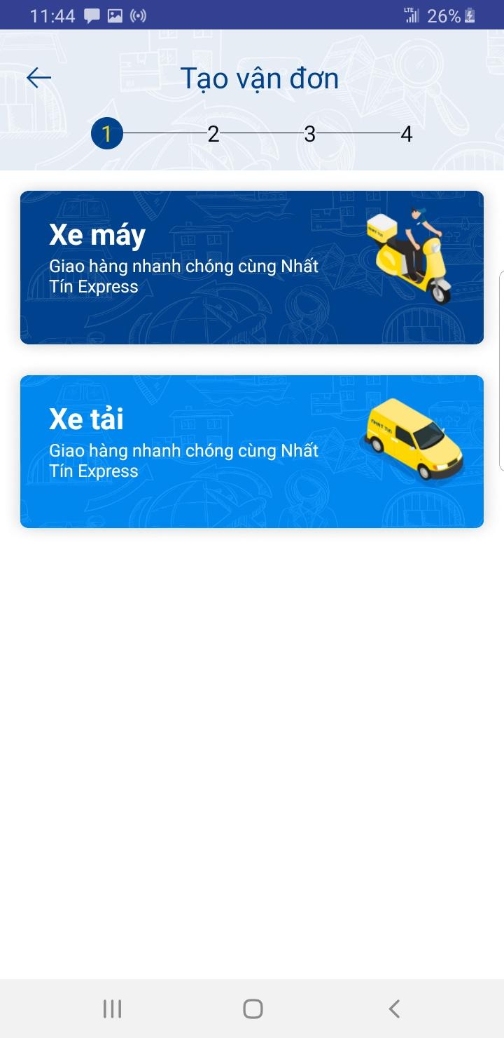 Chọn phương tiện vận chuyển của dịch vụ giao hàng chất lượng