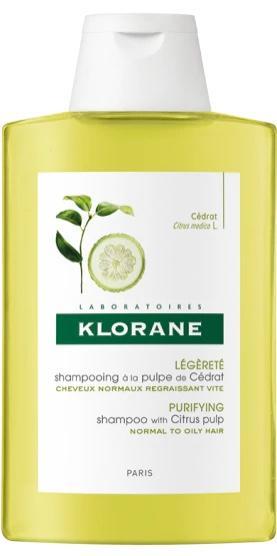 Shampoo with Citrus Pulp จาก Clarifying Klorane