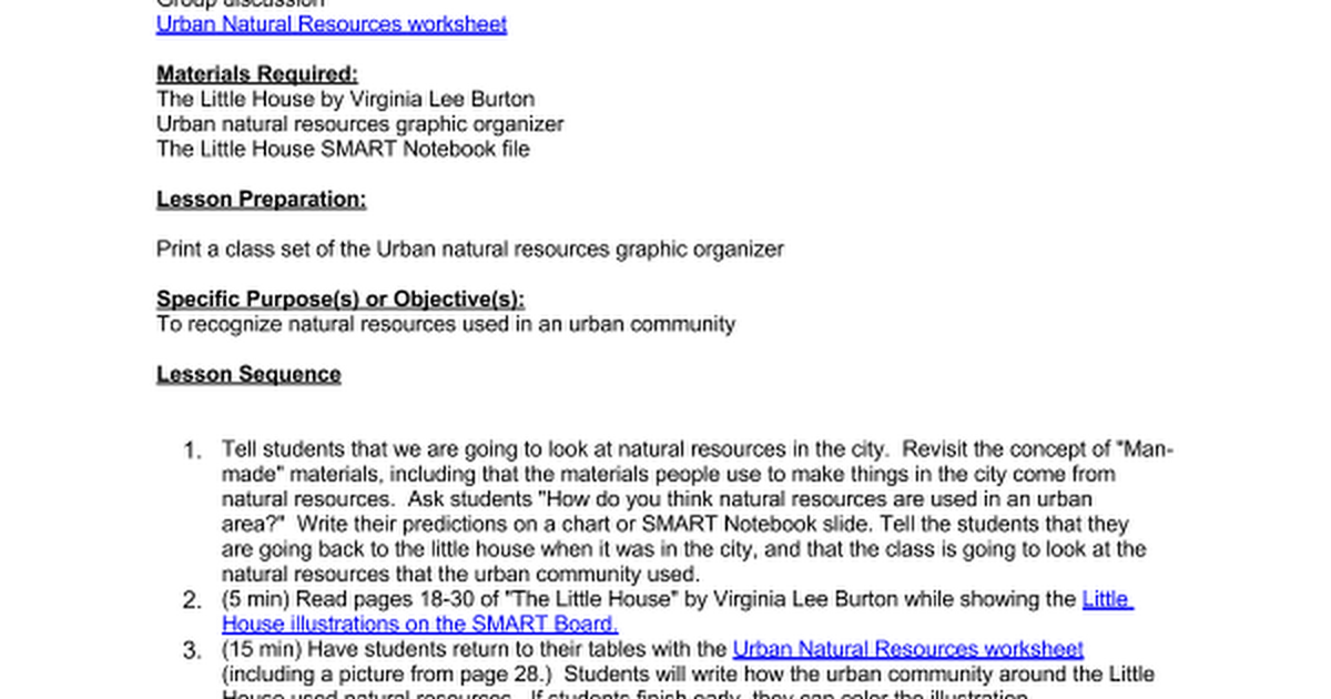 2nd Ss Diff Communities Urban Natural Resources Google Docs