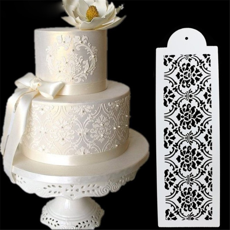 Lace Decoration Molding Tool For The Best Chocolate Cake
