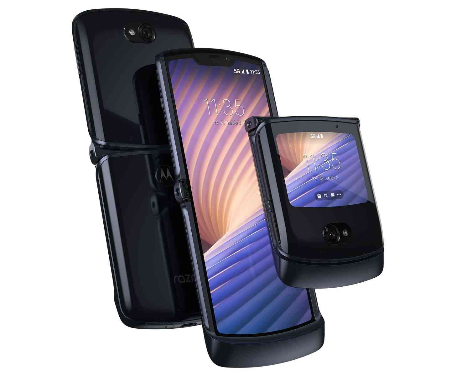 Motorola Razr 2020 Polished Graphite