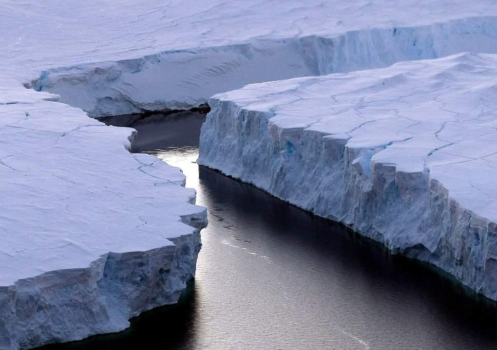 Image result for Beneath an Antarctica glacier