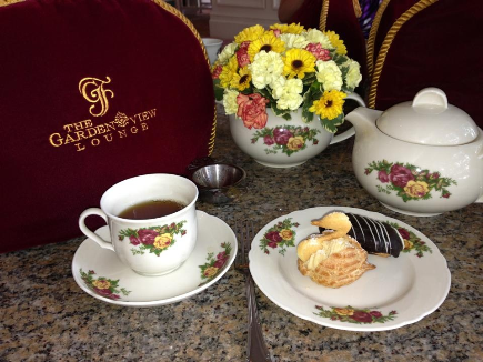 Tea service offered at Disney's Grand Floridian